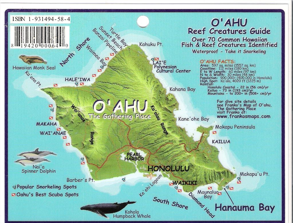 Fast Secrets For North Shore Oahu The Inside Tra – Oahu Tourist Map